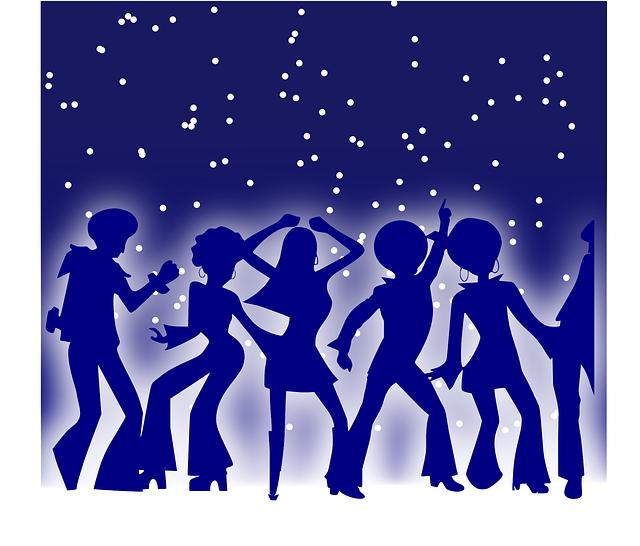 tanec na diskotéce