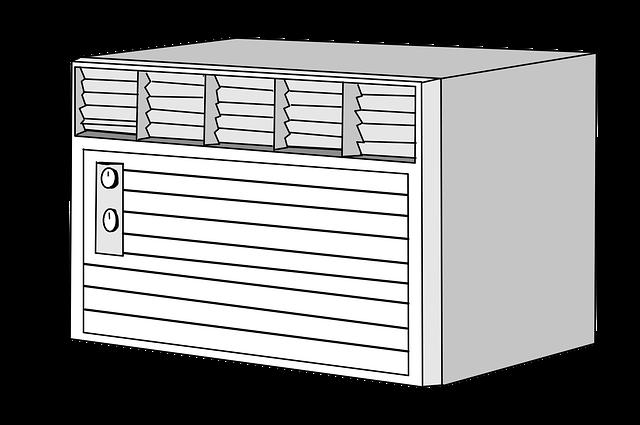 kreslená klimatizace černobílý.png