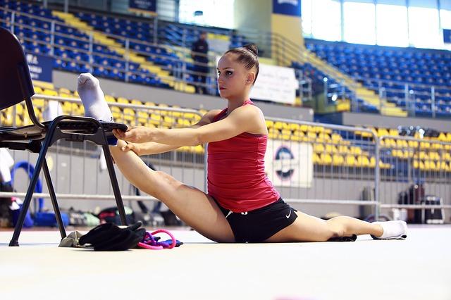 rozcvička pro gymnastky