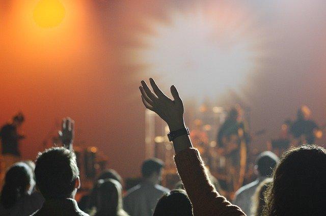 hudba, koncert